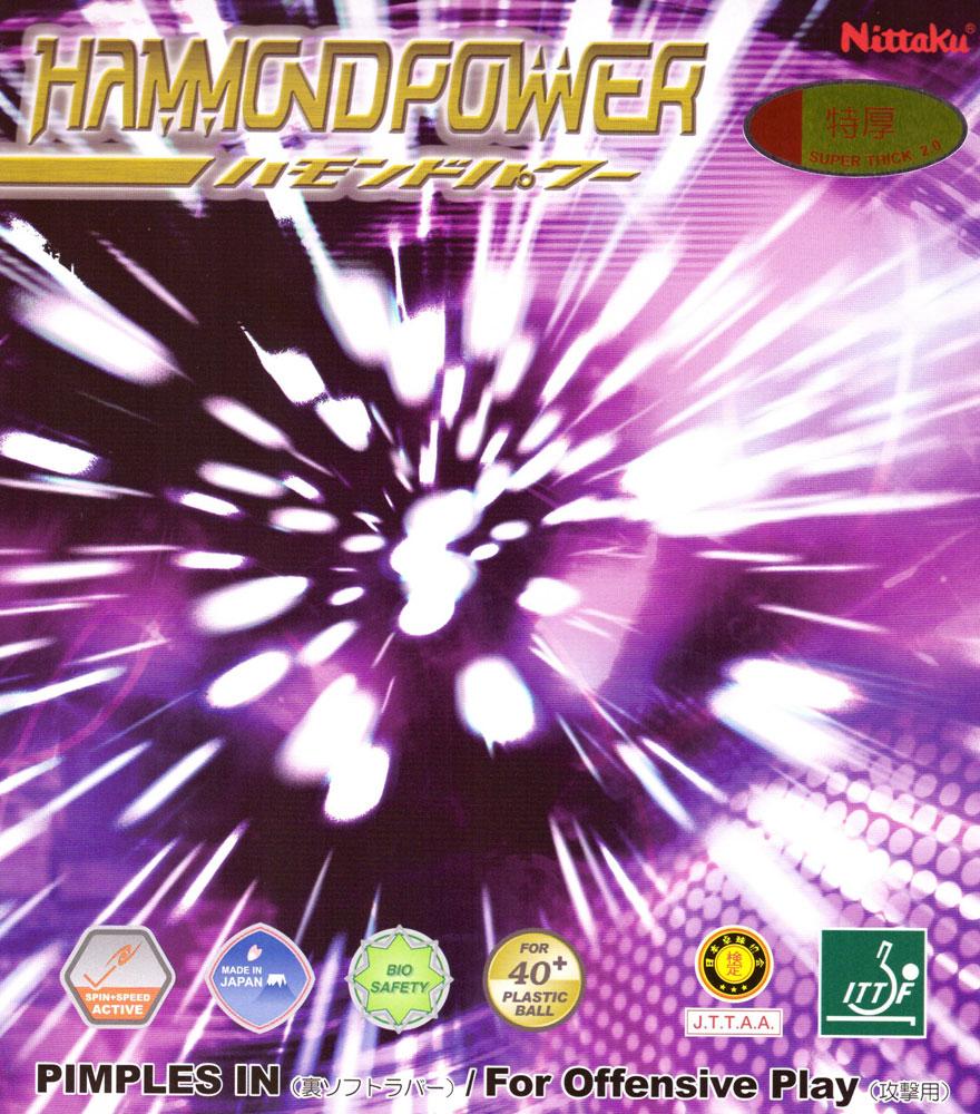 Накладка Nittaku Hammond Power 2,0 красная