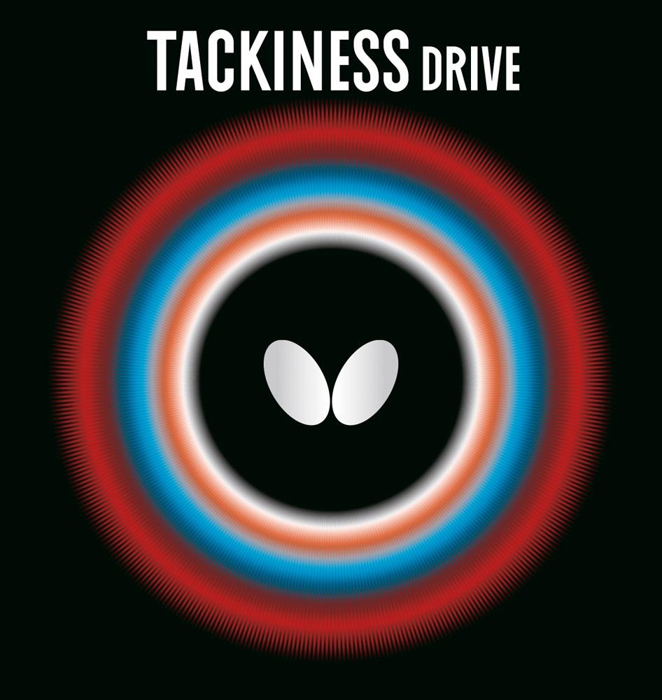 Накладка Butterfly TACKINESS DRIVE 1,5 красная