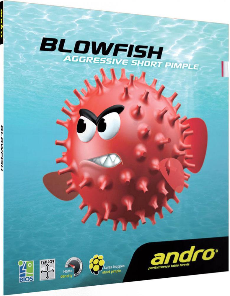 Накладка Andro BLOWFISH 1,8 красная