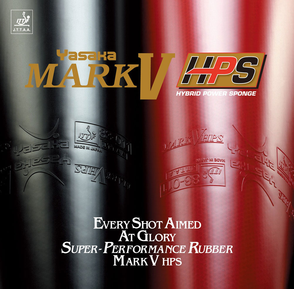 Накладка Yasaka MARK V HPS 2,0 красная